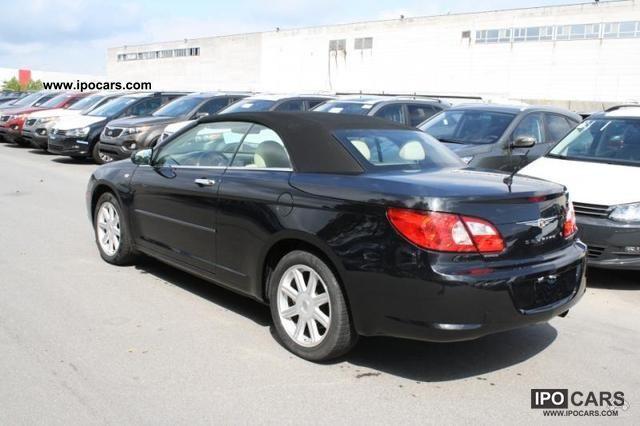 2009 Chrysler Sebring Convertible 7 2 Limited Auto Car
