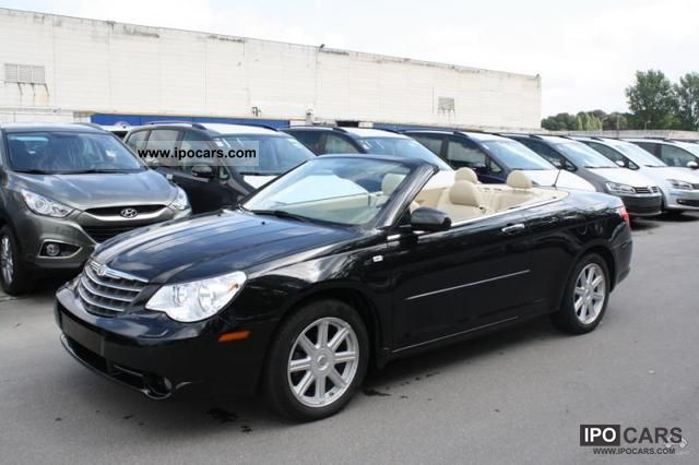 2009 Chrysler Sebring Convertible 7 2 Limited Auto Car