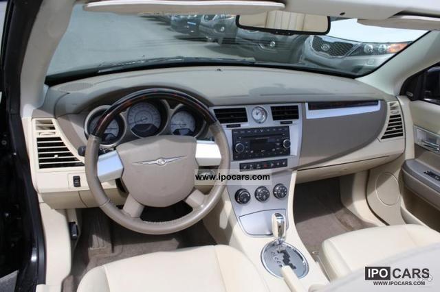 Chrysler Sebring Convertible Limited Auto Lgw on 2007 Chrysler Sebring V6 Engine
