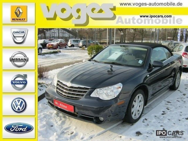 2009 Chrysler  Sebring Cabrio 2.0 CRD Touring Soft Top Cabrio / roadster Used vehicle photo