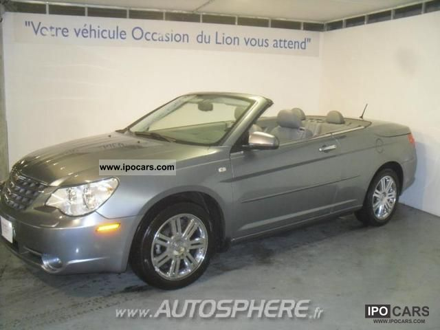 2008 chrysler sebring convertible 2 0 crd limited toit r. Black Bedroom Furniture Sets. Home Design Ideas