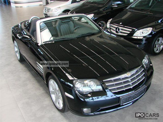 2007 Chrysler Crossfire 3 2 Convertible Auto Navi Leather Shz