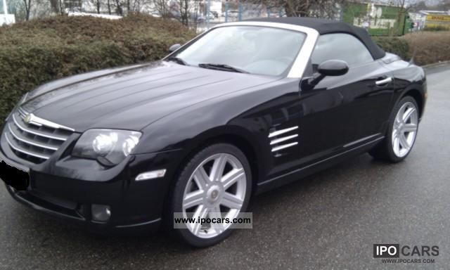 2007 chrysler crossfire roadster car photo and specs. Black Bedroom Furniture Sets. Home Design Ideas