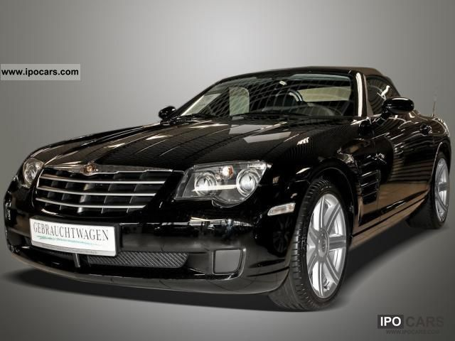 2008 chrysler crossfire 3 2 roadster cruise control climate car photo and specs. Black Bedroom Furniture Sets. Home Design Ideas