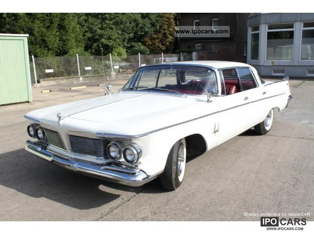 Chrysler  Imperial Crown 4dr Hardtop 1962 Vintage, Classic and Old Cars photo