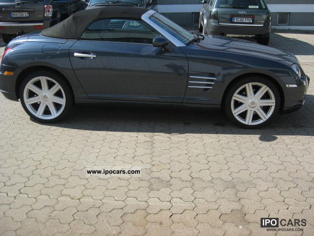 2008 chrysler crossfire 3 2 car gas air esp airbag zv family house car photo and specs. Black Bedroom Furniture Sets. Home Design Ideas