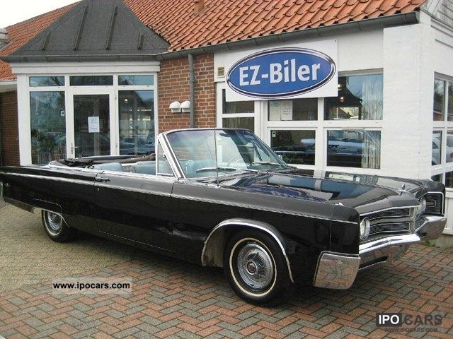 Chrysler  300 Convertible Cabriolet 7.2 1967 Vintage, Classic and Old Cars photo