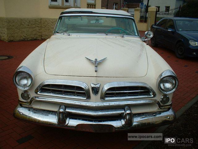 Chrysler  WIDSOR CONVERTIBLE. V 8.3,2 L Good condition. 1955 Vintage, Classic and Old Cars photo