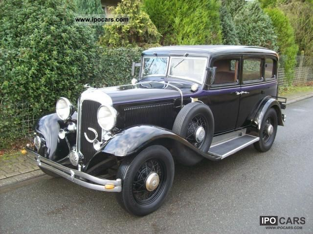 Chrysler  CI 1932 Vintage, Classic and Old Cars photo