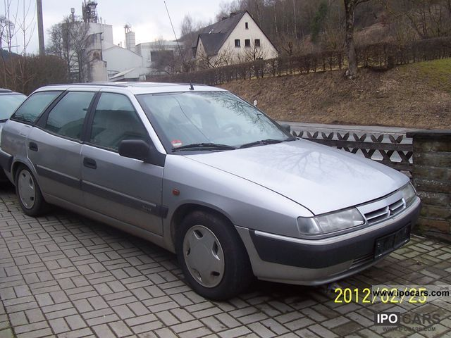 1997 citroen xantia estate 1 9 td car photo and specs. Black Bedroom Furniture Sets. Home Design Ideas