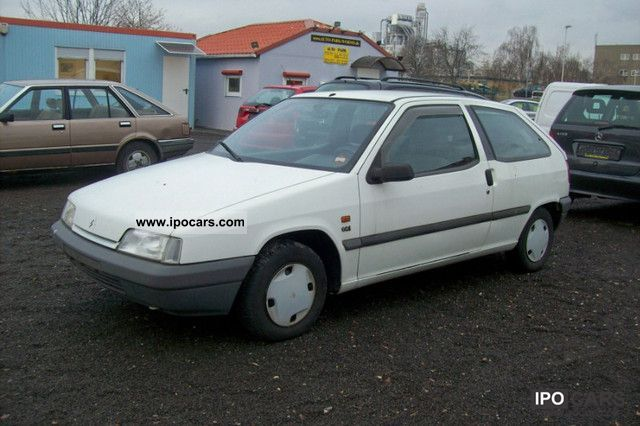 1992 Citroen  ZX Avantage 1.4 i Limousine Used vehicle photo