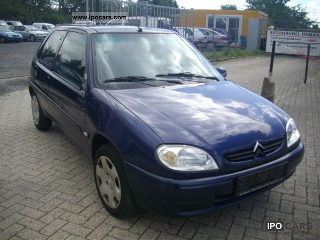 2000 citroen saxo 1 1 chrono car photo and specs. Black Bedroom Furniture Sets. Home Design Ideas