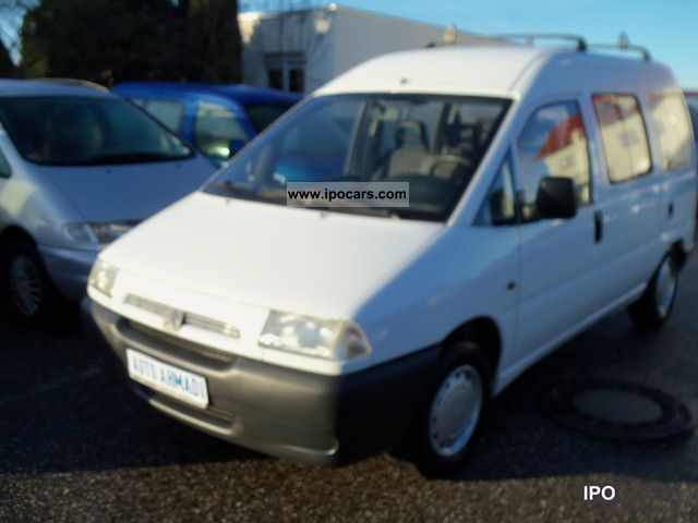 1996 Citroen  1.6i Jumpy * Servo * 6xSitze * el.Fenster Estate Car Used vehicle photo