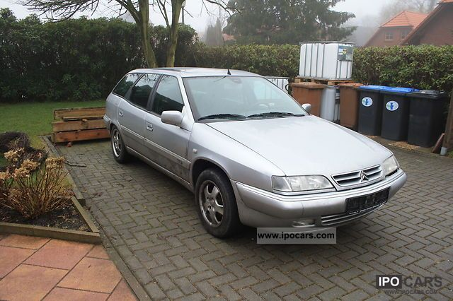 2001 citroen xantia estate 2 0 hdi chrono car photo and specs. Black Bedroom Furniture Sets. Home Design Ideas