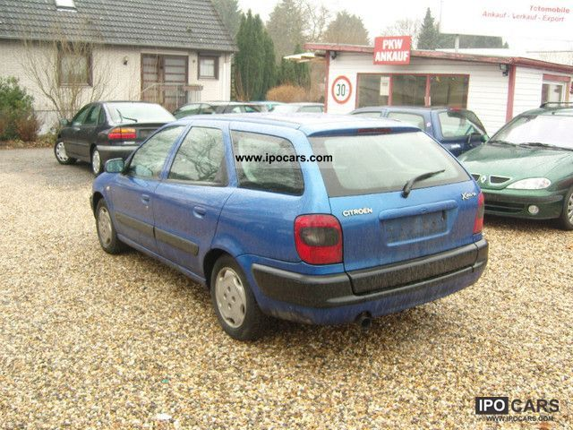 1999 citroen xsara kombi 1 9 td climate 8 frosted car photo and specs. Black Bedroom Furniture Sets. Home Design Ideas