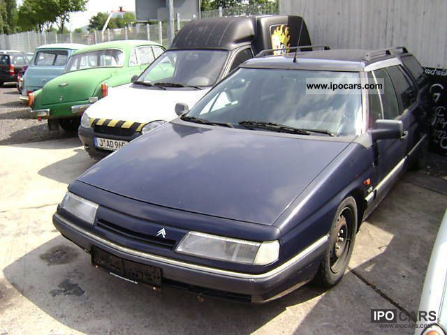 1992 citroen xm break v6 tecnic leather exchange possible car photo and specs. Black Bedroom Furniture Sets. Home Design Ideas