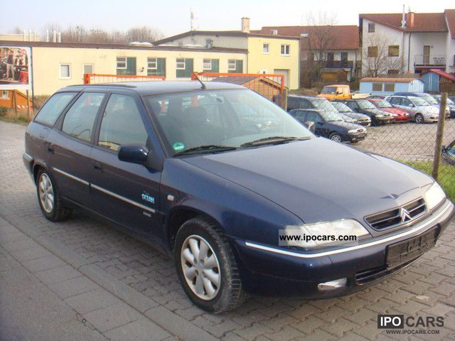 1999 citroen xantia 2 0 hdi combi air and d3 g cat car photo and specs. Black Bedroom Furniture Sets. Home Design Ideas