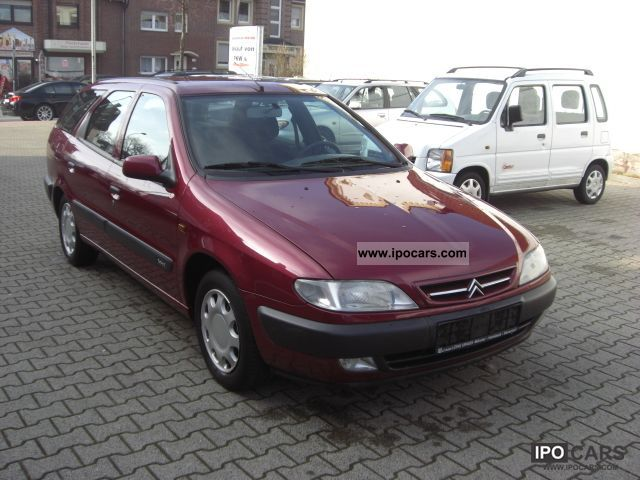 1999 citroen xantia 1 9 td sx estate car photo and specs. Black Bedroom Furniture Sets. Home Design Ideas