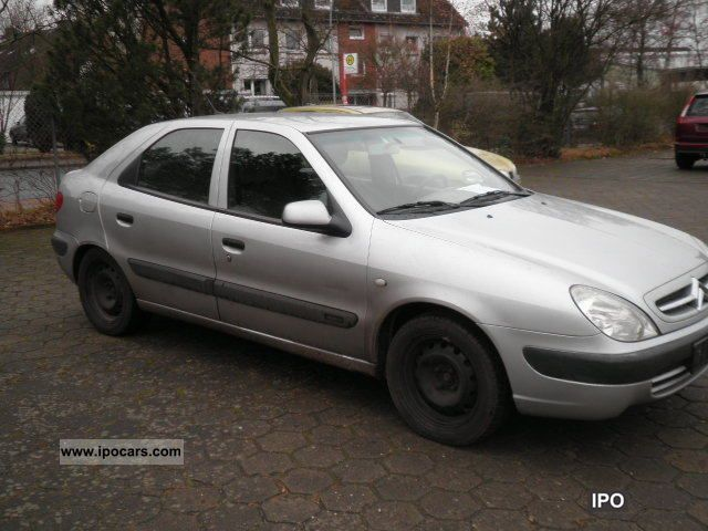 2001 citroen xsara 1 4 sx car photo and specs. Black Bedroom Furniture Sets. Home Design Ideas