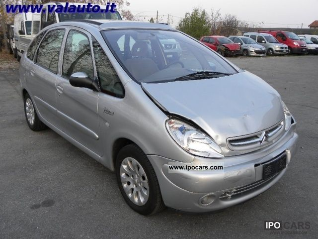 2002 citroen xsara picasso 2 0 hdi elegance cv90 since preparare car photo and specs. Black Bedroom Furniture Sets. Home Design Ideas