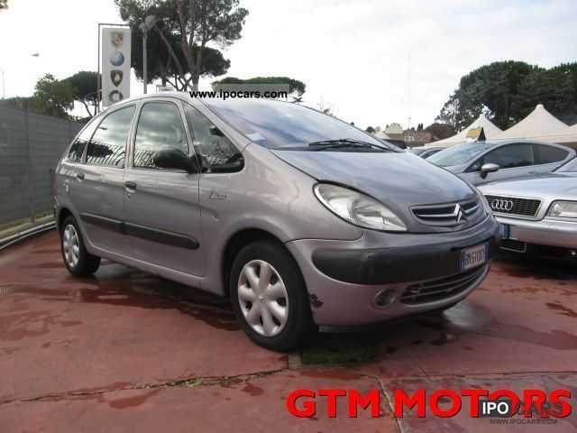 2000 citroen xsara picasso 2 0 hdi car photo and specs. Black Bedroom Furniture Sets. Home Design Ideas