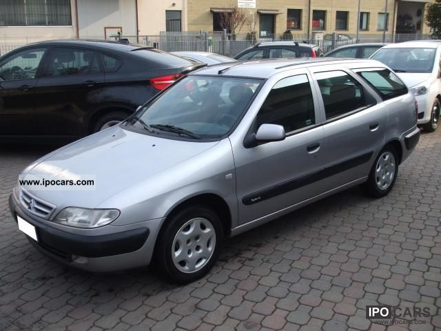 2000 citroen xsara 2 0 hdi station wagon breakfast millesime car photo and specs. Black Bedroom Furniture Sets. Home Design Ideas