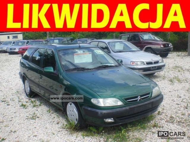 1997 Citroen  Xsara STAN bardzo Dobry Estate Car Used vehicle photo