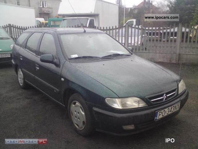 1999 Citroen  Xsara II wŁaściciel GAZ Estate Car Used vehicle photo