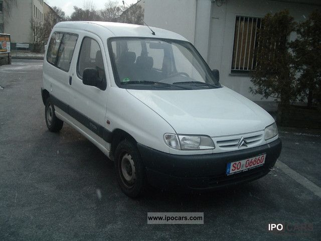 1998 citroen berlingo car photo and specs. Black Bedroom Furniture Sets. Home Design Ideas