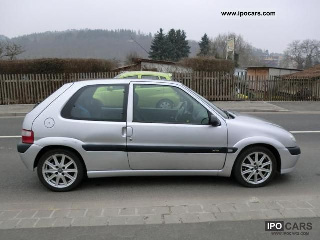 2002 citroen saxo vts 1 4 air alus 3 car photo and specs. Black Bedroom Furniture Sets. Home Design Ideas