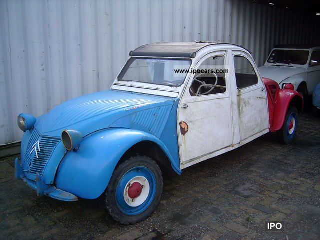 Citroen  2 CV 1956 Vintage, Classic and Old Cars photo