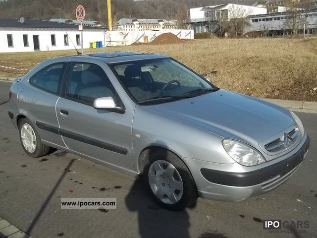 2001 Citroen  Xsara Coupe 2.0 HDi Chrono Sports car/Coupe Used vehicle photo
