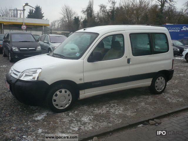 2003 Citroen  Berlingo 600 1.4 i level B Van / Minibus Used vehicle photo