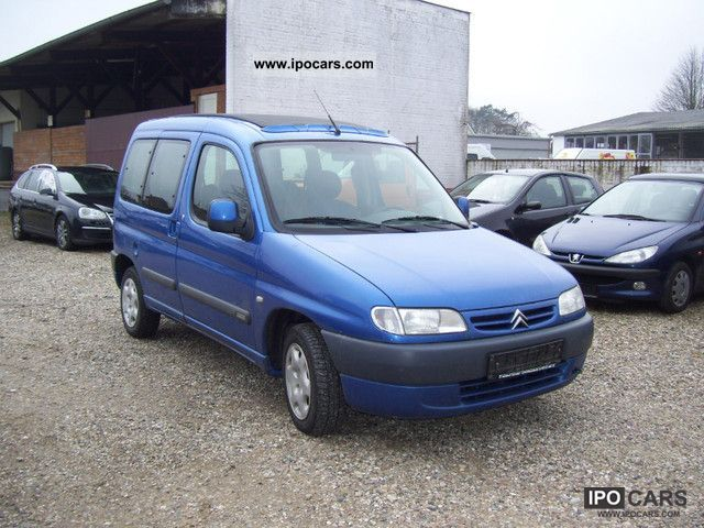 2001 citroen berlingo multispace 1 9 d climate car photo and specs. Black Bedroom Furniture Sets. Home Design Ideas