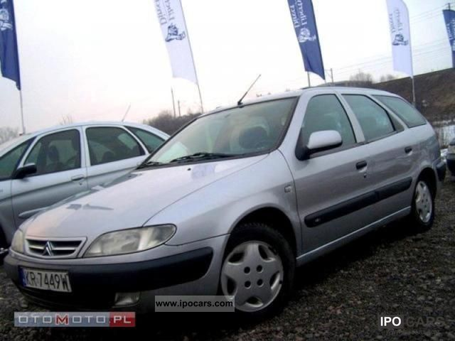 Citroen  Xsara SALON PL * GAZ * AIR * ALU * ELE 1999 Liquefied Petroleum Gas Cars (LPG, GPL, propane) photo