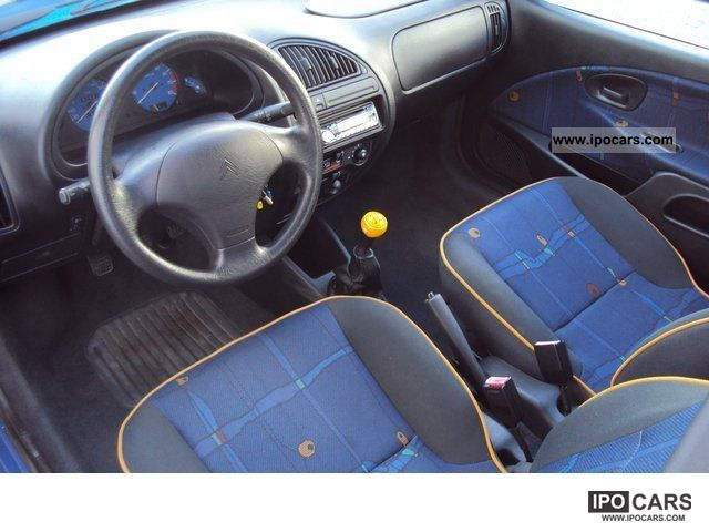 1999 Citroen Saxo 1 4 Tonic Ii Car Photo And Specs