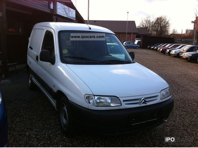 2002 Citroen Berlingo 1 9 800d Box Truck Registration