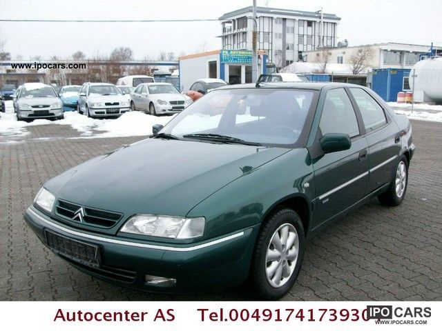 2002 citroen xantia 2 0 hdi 109 sx euro 3 climate car photo and specs. Black Bedroom Furniture Sets. Home Design Ideas