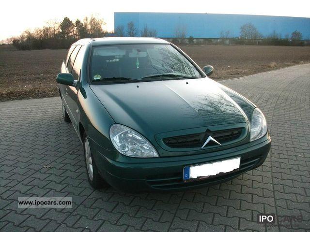 2002 Citroen  Xsara Kombi 2.0 HDi Estate Car Used vehicle photo
