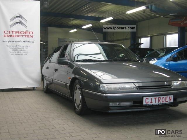 1989 citroen xm 3 0 v6 exclusive leather car photo and specs. Black Bedroom Furniture Sets. Home Design Ideas