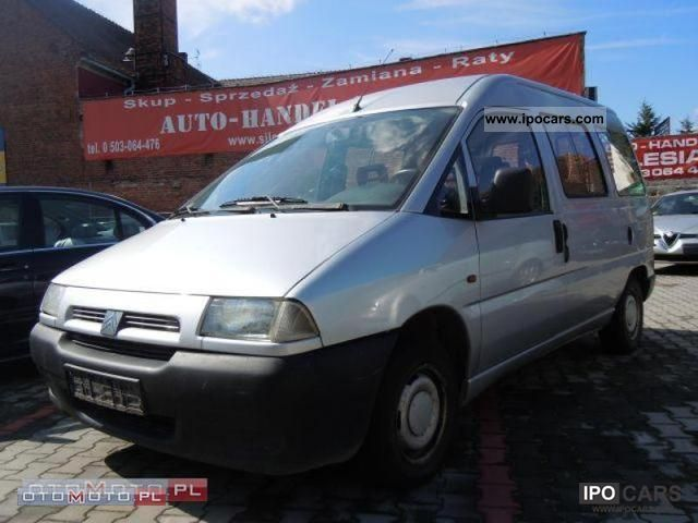 1998 Citroen  Jumpy Combi TD 98,1.9 & 0.6-os, OPOLE Van / Minibus Used vehicle photo