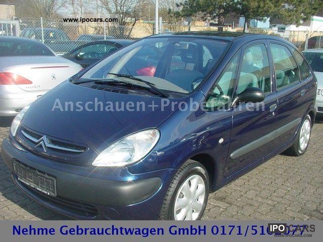 2001 Citroen  Xsara Picasso1.8 * Climate * checkbook * gepfl. 2.Hand Van / Minibus Used vehicle photo
