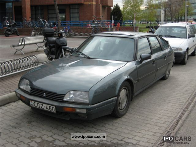 1988 citroen cx 25 gti turbo 2 turbo car photo and specs. Black Bedroom Furniture Sets. Home Design Ideas