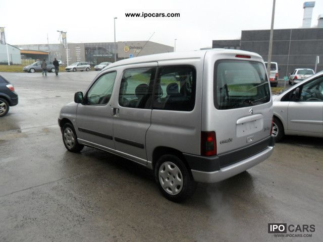 2001 citroen berlingo multispace 1 9 d okazauto be car photo and specs. Black Bedroom Furniture Sets. Home Design Ideas