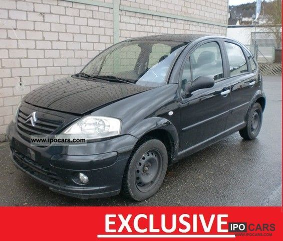 2004 citroen c3 exclusive climate control car photo and specs. Black Bedroom Furniture Sets. Home Design Ideas