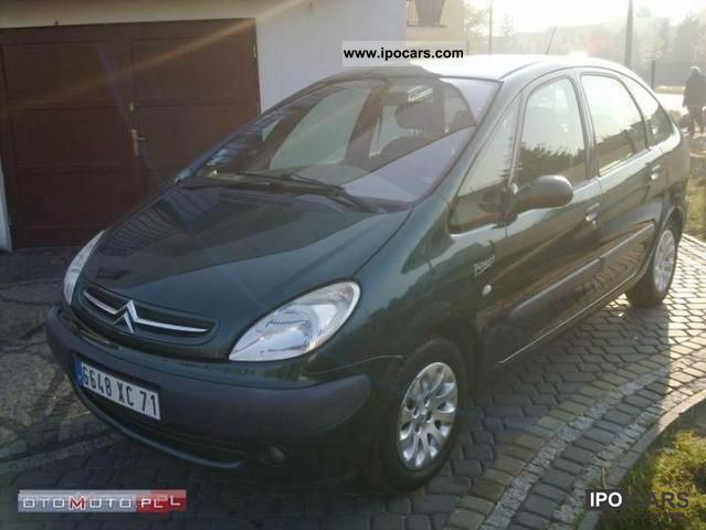 2001 Citroen  Xsara Picasso 2.0 HDI RATY - ZAMIANA -! Small Car Used vehicle photo