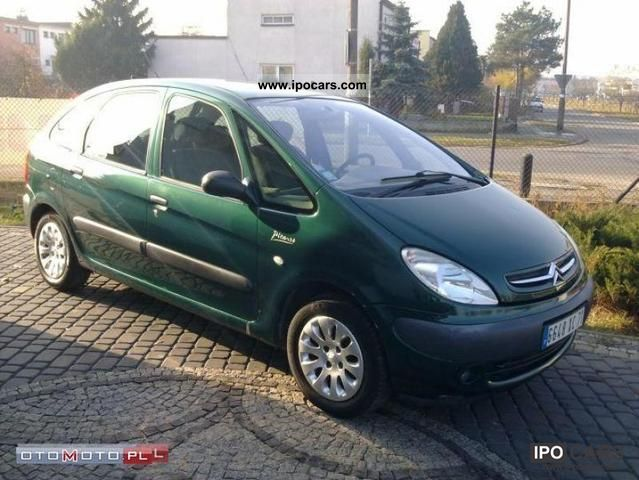 2001 citroen xsara picasso 2 0 hdi raty zamiana car photo and specs. Black Bedroom Furniture Sets. Home Design Ideas