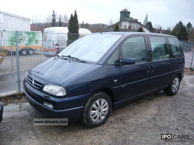 2001 Citroen Evasion 2.0 HDi Exclusive, leather, air, 7 seats Van ...