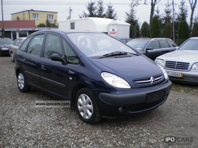 2000 citroen xsara picasso 1 8 air bezwypadkowy car photo and specs. Black Bedroom Furniture Sets. Home Design Ideas