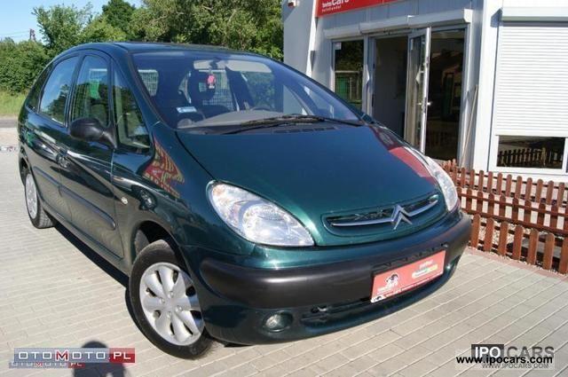 2000 Citroen  Xsara Picasso DIESEL * PL * AIR * Piękny * SZYBER * Van / Minibus Used vehicle photo